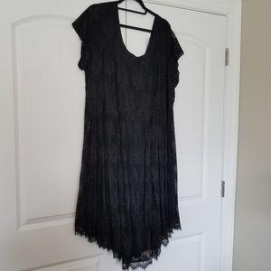 Beautiful lace back dress